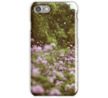Among The Wildflowers iPhone Case/Skin