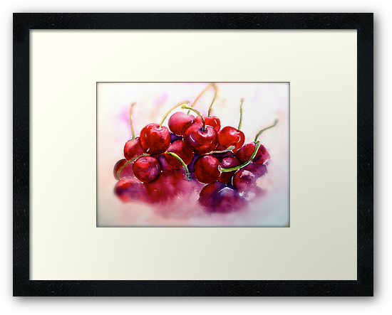 Cherries...Ripe by © Janis Zroback