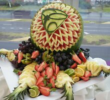 Watermelon carving by Greg  Francis
