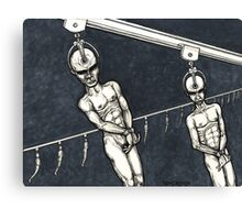 Assembly Line Canvas Print