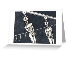 Assembly Line Greeting Card