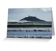 Ballycotton Lighthouse Greeting Card