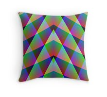 Rainbow Trap Throw Pillow
