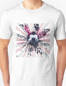 Grunge Soccer 5 T-Shirt
