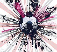 Grunge Soccer 5 by AnnArtshock