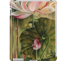 """Master and Follower"" from the series ""In the Lotus Land"" iPad Case/Skin"