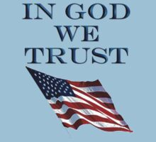 American, Official motto, In God we trust, USA, America, Americana, Kids Clothes