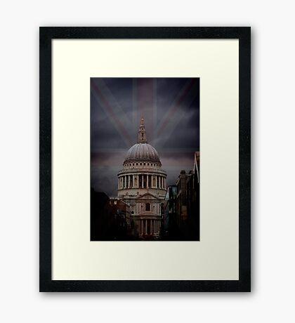 Rule Britania Framed Print