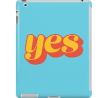 Affirmative iPad Case/Skin