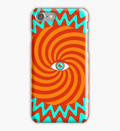Hypnotic poster iPhone Case/Skin