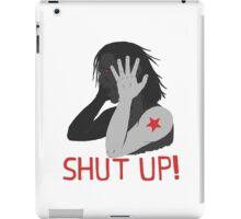 Shut Up! iPad Case/Skin