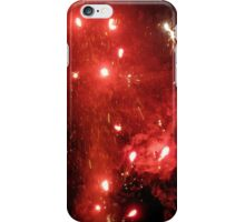 red fists of fury iPhone Case/Skin