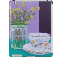 Water Meadow, Butter cup floral iPad Case/Skin