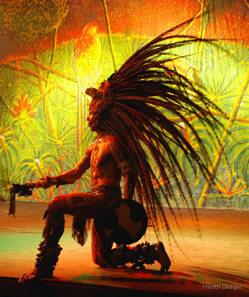 "Warriors Of The Rainbow Lodge: ""Mayan Warrior"" By Heath Dreger"