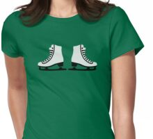 Figure skating skates Womens Fitted T-Shirt