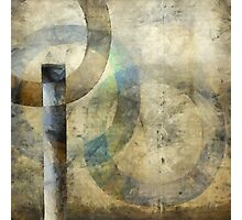 Abstract with Circles Photographic Print