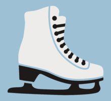Figure skating skate Kids Tee