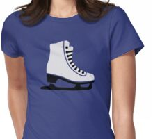 Figure skating skate Womens Fitted T-Shirt