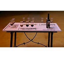 Sherry Tasting Table Photographic Print