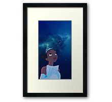 Tiana Galaxy Framed Print