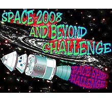 SPACESHIP CHALLENGE Photographic Print