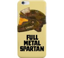Full Metal Spartan - Halo  iPhone Case/Skin