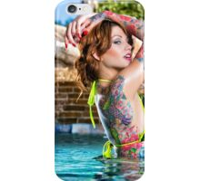 Green Bikini Nikki Nichole iPhone Case/Skin