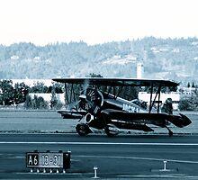 B&W Biplane by rneimann