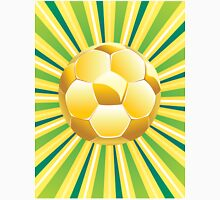 Soccer Ball on Green Background 2 Unisex T-Shirt