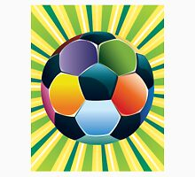 Soccer Ball on Green Background 3 Unisex T-Shirt