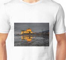 Evening Light on Eilean Donan Castle Unisex T-Shirt