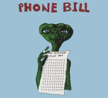 ET's Phone BILL by hyde