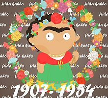 Frida Kahlo by alapapaju