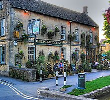 The Knightsbridge Inn. Burton-on-the-Waters, Cotswolds by patapping