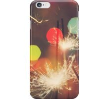 Christmas Sparkler 7 iPhone Case/Skin