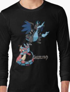 Kelly's Mega Charizard X & Milotic Long Sleeve T-Shirt