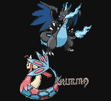 Kelly's Mega Charizard X & Milotic Unisex T-Shirt
