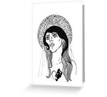 Judas Greeting Card