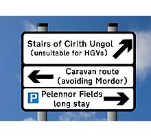 Stairs of Cirith Ungol Photographic Print