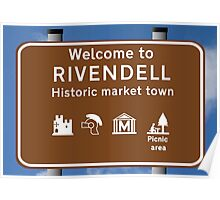 Welcome to Rivendell Poster