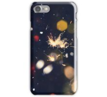 Christmas Sparkler 10 iPhone Case/Skin