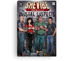 SheVibe Presents The Unusual Suspects Cover Art Canvas Print