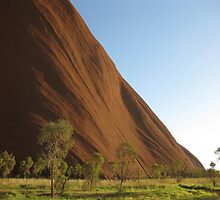 Morning Uluru by Catherine C.  Turner