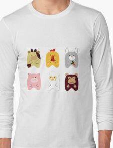 Cute animals Long Sleeve T-Shirt