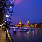 Blue London Night by Bradley Old