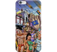 SheVibe Takes On Key West Fantasy Fest iPhone Case/Skin