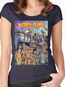 SheVibe Takes On Key West Fantasy Fest Women's Fitted Scoop T-Shirt