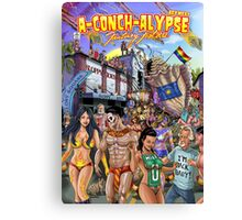 SheVibe Takes On Key West Fantasy Fest Canvas Print