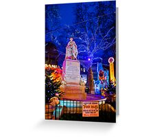 Leicester Square Funfair Greeting Card