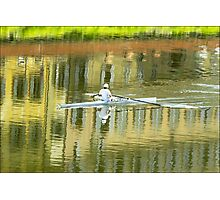 The Rower Photographic Print